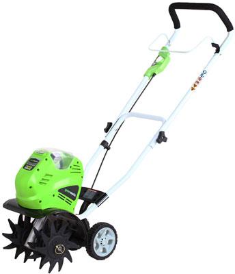 7. Green-Works 27062 G-MAX 40V Li-Ion Cordless Cultivator