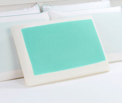 1.Dreamfinity Cooling Gel and Memory Foam Pillow, Top 10 Best Cooling Pillow Reviews