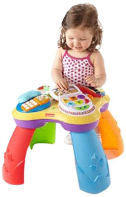 6. Fisher-Price Laugh & Learn Puppy and Friends Learning Table