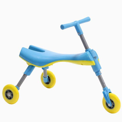 1. Foldable Indoor/Outdoor Toddlers Glide Tricycle, Top 10 Best Trike For Toddler Reviews