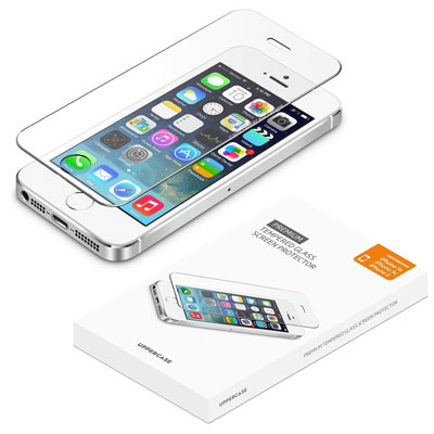 5. iPhone 5 5s screen protector, UPPERCASE