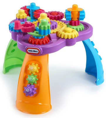 8. Little Tikes Giggly Gears Twirl Table Play set