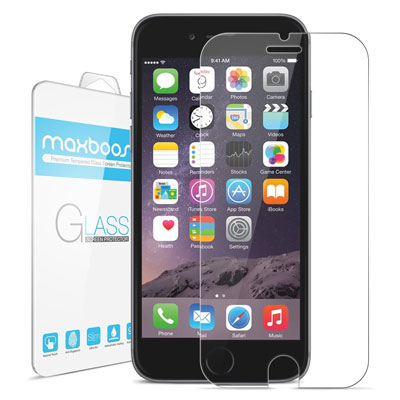 2. iPhone 6 Screen Protector, Maxboost