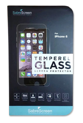 1. SabreScreen iPhone 6 Screen Protector Ultimate Glass Defender