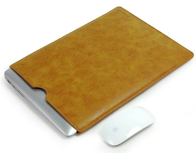 2. High-Quality Leather Bag Slim Simple Cover