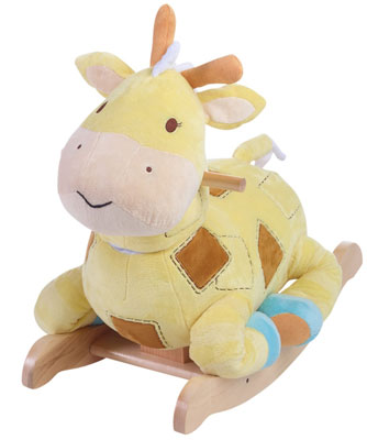 10. Rockabye Patch The Giraffe Ride On