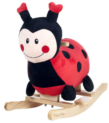 9. Happy Trails Rocking Lucy The Ladybug Ride On