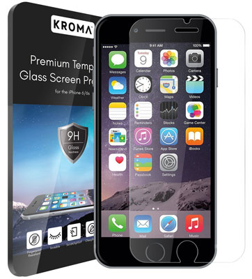9. Kroma™ iPhone 6S Glass Screen Protector