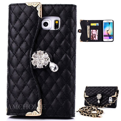 12. Galaxy S6 Edge Leather Case