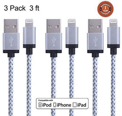 12. Nylon Braided Lightning Cable