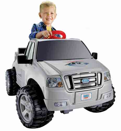 #3. Power Wheels Ford F150
