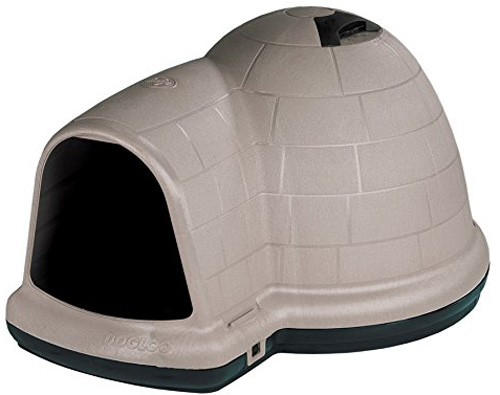 #7. Petmate Indigo Dog House with Microban