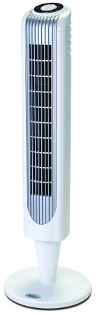 #10. Holmes 36 Inch Oscillating Tower Fan with Remote Control
