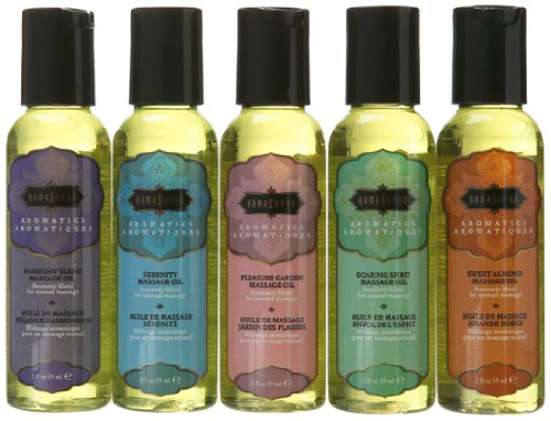 #5. Kama Sutra massage oils that come in 2 ounce bottles