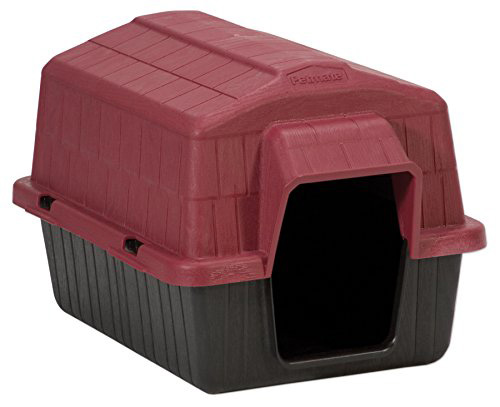#8. Dosckocil (Petmate) DDS25118 Barnhome III Dog House, X-Small, Samba Red/Black