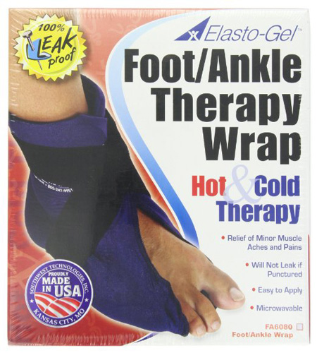 #7.Elasto Gel Hot /Cold Wrap, Foot And Ankle Wrap