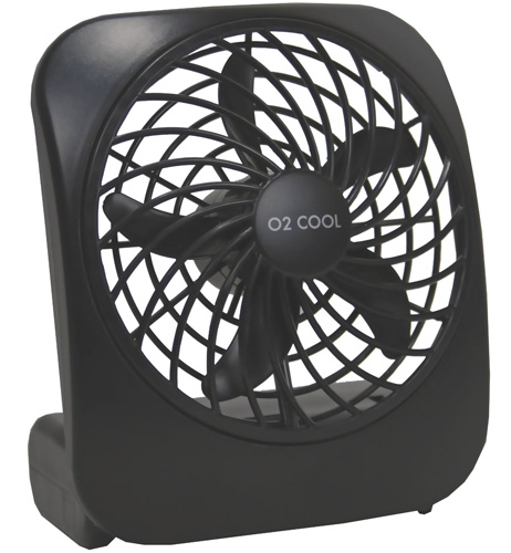 #1. Portable Battery-Operated Fan