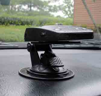 #5. Radar Detector Car Dash and Windshield Mount