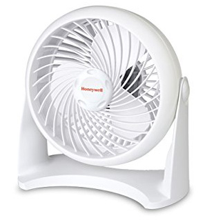 #9. Honeywell Tabletop Air-Circulator Fan, White, HT-904