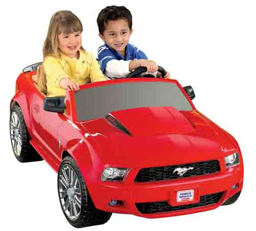#8. Fisher-Price Power Wheels Ford Mustang