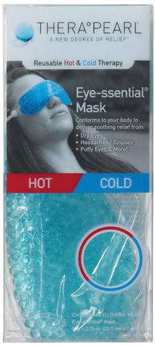 #6. TheraPearl Eye-ssential Mask - Reusable Hot Cold Therapy Mask