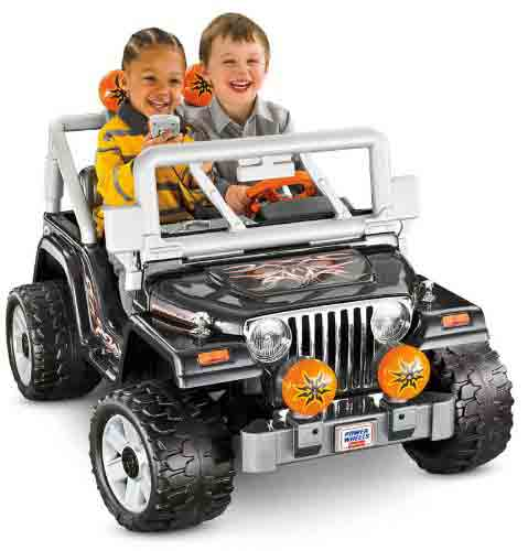#5. Power Wheels Tough Talking Jeep Wrangler