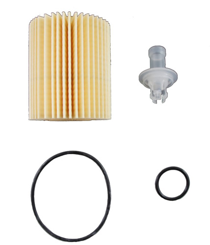 9. Toyota Genuine Parts 04152-YZZA5 Replaceable Oil Filter Element