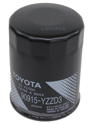 7. Toyota Genuine Parts 90915-YZZD3 Oil Filter