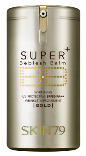 #3. SKIN79 Super Plus Beblesh Balm Triple Functions - VIP Gold 40g