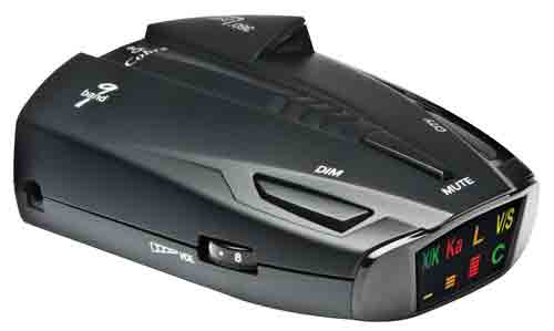#4. Cobra ESD7570 9-Band Performance Radar or Laser Detector with 360 Degree Detection