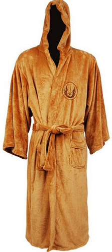 #1. Star Wars Adult Jedi Fleece Robe