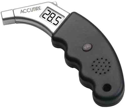 #7. Accutire MS-4441GB Talking Digital Tire Pressure Gauge
