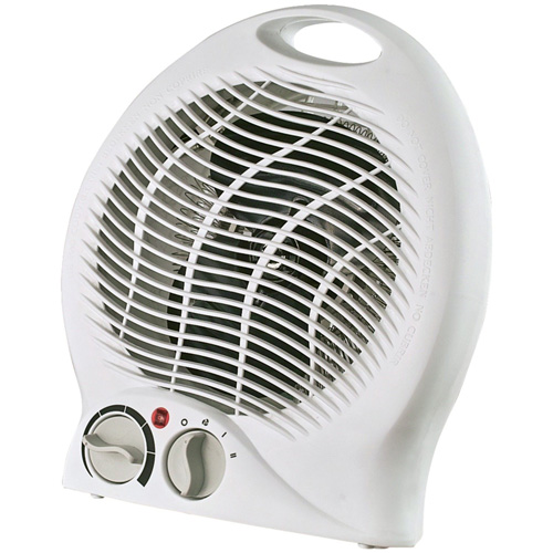 #8. Optimus H-1322 Portable 2-Speed Fan Heater With Thermostat