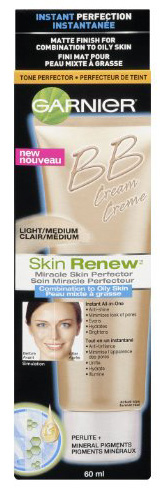 #2. Garnier Skin Renew Miracle Skin Perfector Bb Cream, Combination To Oily Skin