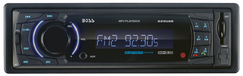 #5. BOSS AUDIO 625UAB Single-DIN MECH-LESS