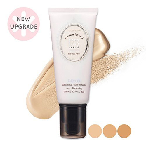 #7. Etude House Precious Mineral BB Cream Cotton Fit W13 Natural Beige