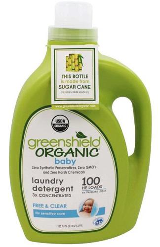 12. Greenshields Organic USDA Baby Laundry Detergent