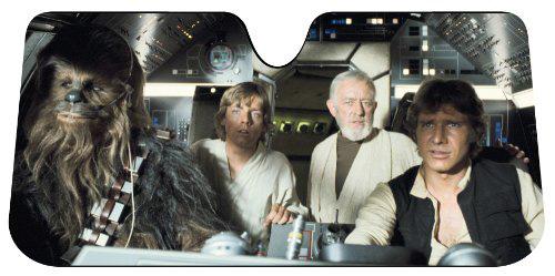 #1. Pasticolor 003700RO1 Star Wars Accordion Sunshade
