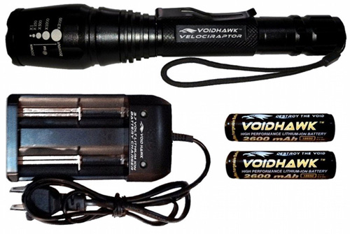 #9. Brightest Rechargeable LED Flashlight