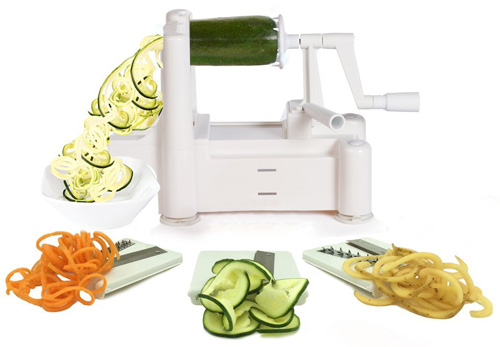 #1. Spiralizer Tri-Blade Vegetable Spiral Slicer