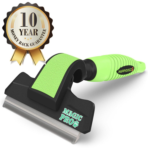 #5. The Magic Pro Dog Deshedding Tool Reduces Shedding By 95% -The Best Deshedding Tool To Easily Remove Shed Hair