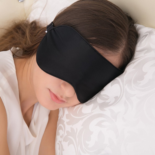 #1. Alaska Bear - Natural silk sleep mask & blindfold, super-smooth eye mask