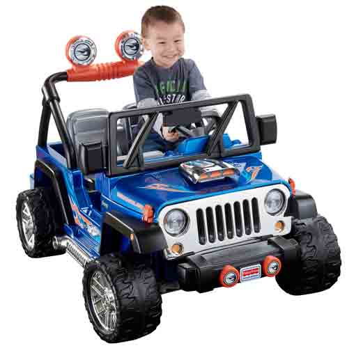 #10. Power Wheels Hot Wheels Jeep Wrangler