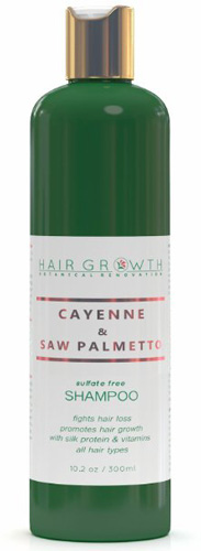 #2.Hair Growth Botanical Renovation Sulfate-Free Scalp Stimulating Shampoo