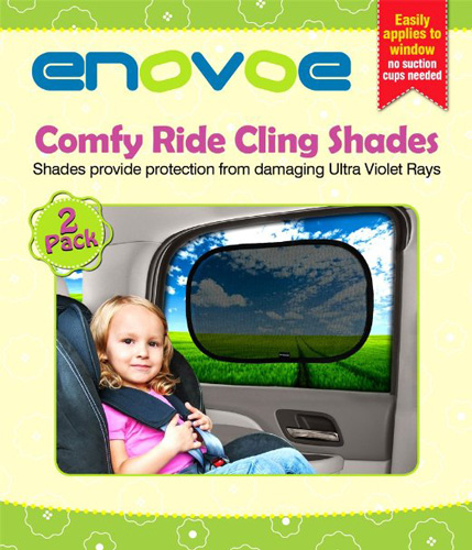 #1.Car Sun Shade(2 Pack)-Premium Baby Care Window Shades Are The Best For Blocking 97 % Of Harmful UV Rays while Protecting Your Child From Sunlight and Glare-LIFETIME WARRANTY
