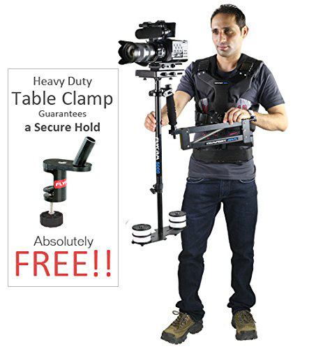 #5. FLYCAM 5000 Camera System with Comfort Arm and Vest - FREE Arm Brace & Table Clamp