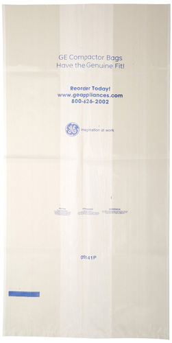 #9.General Electric WC60X5017 Trash Compactor Bags