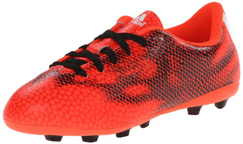 #10. Adidas Performance F5 FXG J Firm-Ground Soccer Cleat