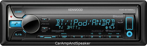 #7. Kenwood KDC-BT562U CD Single DIN In-Dash
