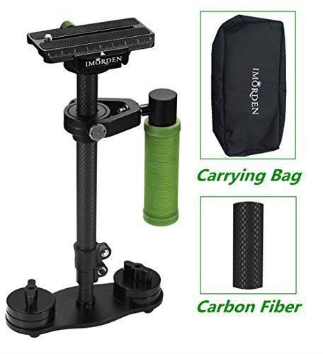 #9. IMORDEN Carbon S-40c Handheld Camera Stabilizer for GoPro, Canon, Sony, Panasonic Dslr Camera(0.5~3lbs) with 50mm-Quick Release